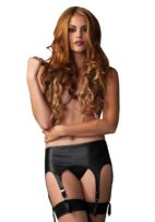 leg-avenue-garter-strumpebandshållare-stocking-wet-look