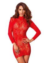 leg-avenue-röd-spets-klänning