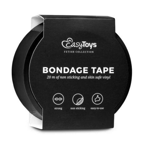bondage-tape-sm-svart