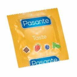 pasante-taste-flavours-kondom-jordbubb-strawberry
