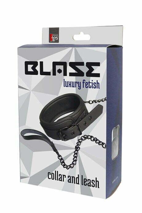 blaze-vegan-läder-lether-collar-chain-halsband-koppel