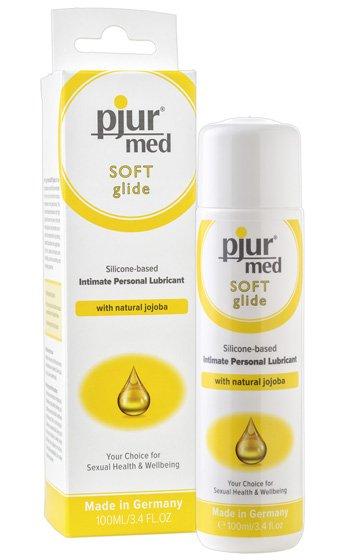 pjur-med-soft-glide-siliconbaserat-glidmedel-jojoba-vårdande